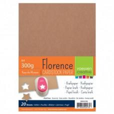 Kraft papier, kartón A4 300 g/m2