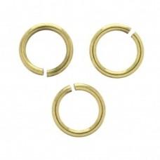 Pozlátené otvorené krúžky z nerezovej ocele 5 mm