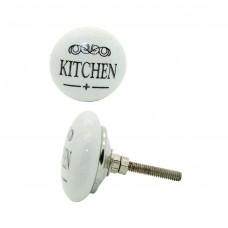 Keramický úchyt na dvere Kuchyňa