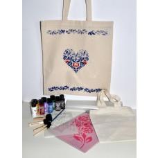 Kreatívna sada Maľovanie na textil Veľká