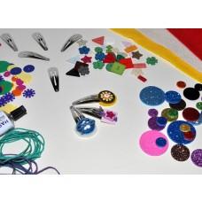 Kreatívna sada Výroba sponiek pukačiek Malá