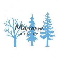 Marianne Design rezacia šablóna Stromy