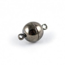 Magnetické zapínanie 10 mm Hematit