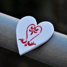 Magnetka Srdce ornament
