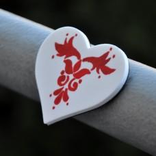 Magnetka Srdce folklór