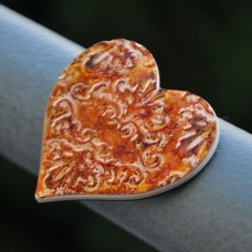 Magnetka Srdce medené