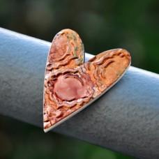 Magnetka Srdce z medi