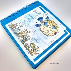 Album na fotky 15x15 cm Modrý