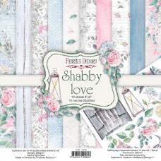 Fabrika Decoru obojstranný papier Shabby love 20x20 cm