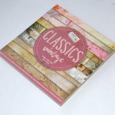 Vzorovaný papier 15x15 Classics Vintage