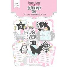 Papierové výseky Fabrika Decoru Scandi baby girl