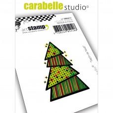 Pečiatka Carabelle Vianočný stromček A6
