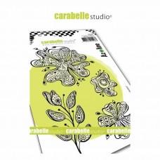 Pečiatka Carabelle Kvety A6