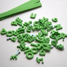 Penové Samolepiace Písmená a čísla Zelená svetlá