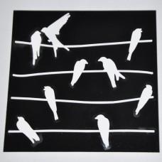 Šablóna Vtáčiky