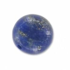 Korálka s polovičným prevŕtaním Lapis Lazuli 8 mm