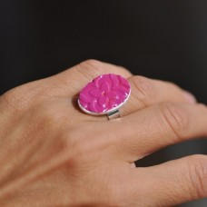 Prsteň Cyklámenový kvet