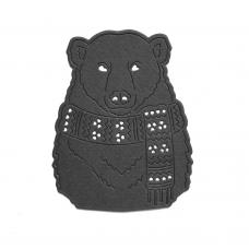 Rezacia šablóna A. Renke Medveď so šálom