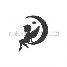 Rezacia šablóna A. Renke Anjel na mesiaci ľavý