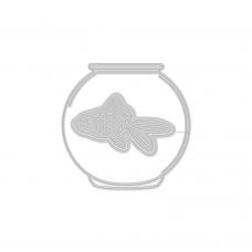 Rezacia šablóna A. Renke Rybka v akváriu