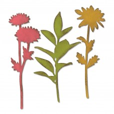 Sizzix Bigz Die Plus vyrezávacia šablóna Kvetiny