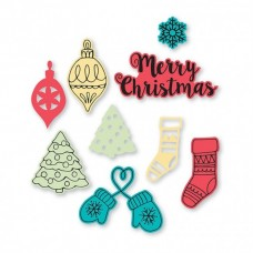 Sizzix Framelits vyrezávacia šablóna Vianoce