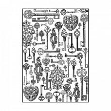 Ryžový papier A4 Keys - Kľúče