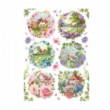 Ryžový papier A4 Spring landscapes - Jarná príroda