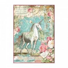 Ryžový papier A4 Unicorn - Jednorožec