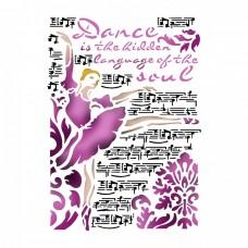 Šablóna Stamperia Dance / Baletka