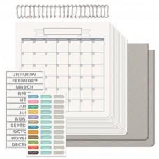 We R Memory Keepers Cinch kit calendar / Sada na výrobu kalendára