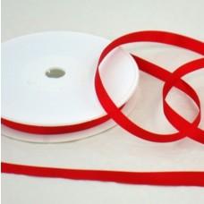 Saténová stuha 10 mm Červená