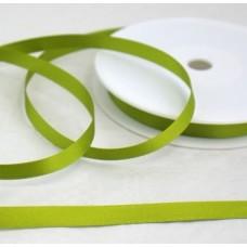 Saténová stuha 10 mm Zelená jarná