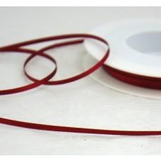 Saténová stuha 3 mm Bordová