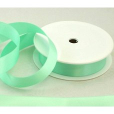 Saténová stuha 25 mm Zelená mätová