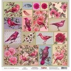 Papier Vtáky v raji