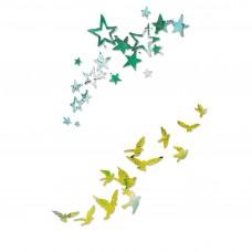 Sizzix Thinlits Hviezdy a vtáky