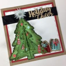 Sizzix Thinlits Vianočný strom