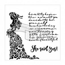 Šablóna TCW She said yes
