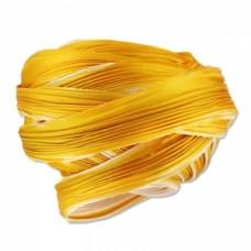 Hodvábna stuha Shibori Ecru Gold