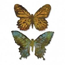 Sizzix Bigz Die vyrezávacia šablóna Motýľ embos