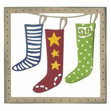 Sizzix Thinlits Vianočné balíčky