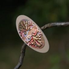 Spona do vlasov Vintage ornament