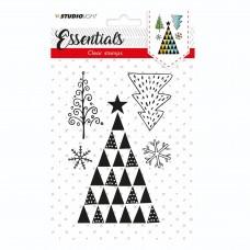 Silikónová pečiatka Studio Light A6 Vianočný stromček