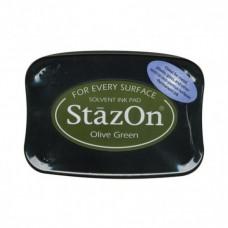 Stazon poduška Olive green / Olivová zelená