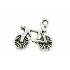 Kovový prívesok Bicykel