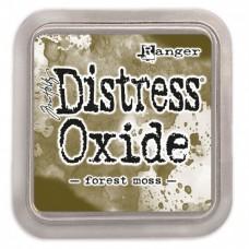 Atramentová poduška Distress oxide Forest moss / Zelená machová