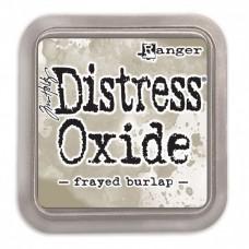 Atramentová poduška Distress oxide Frayed Burlap / Sivá