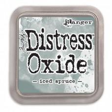 Atramentová poduška Distress oxide Iced Spruce