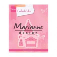 Marianne Design Dedinka - dekorácia